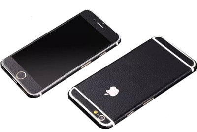LEATHER LOOK IPHONE DECAL